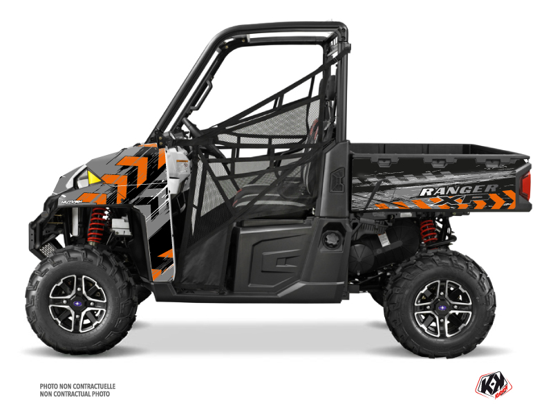 Polaris Ranger 900 XP UTV Lifter Graphic Kit Orange