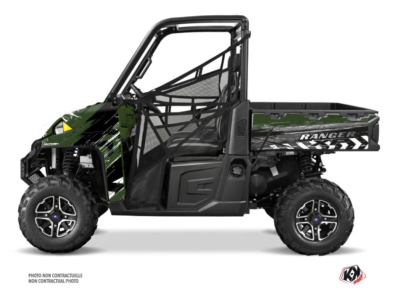 Polaris Ranger 900 XP UTV Lifter Graphic Kit Green
