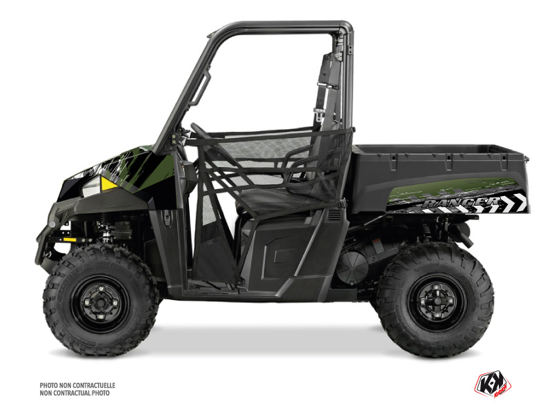 Polaris Ranger EV UTV Lifter Graphic Kit Green