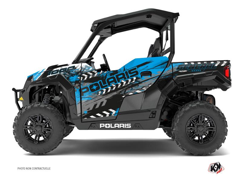 Polaris GENERAL 1000 UTV Lifter Graphic Kit Blue