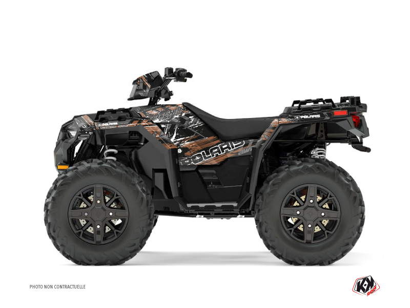 Polaris 1000 Sportsman XP Forest ATV Lifter Graphic Kit Brown