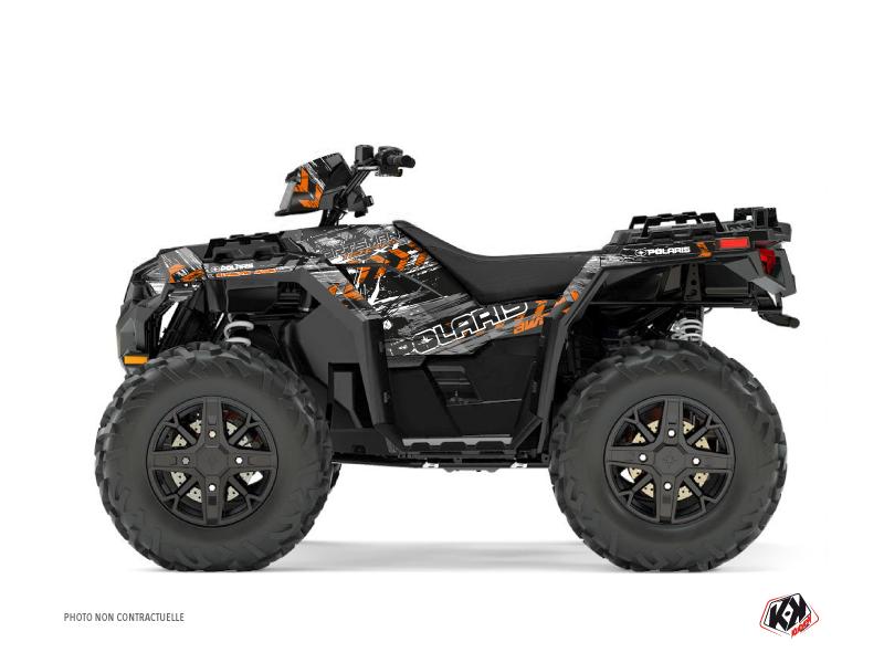 Polaris 1000 Sportsman XP Forest ATV Lifter Graphic Kit Orange