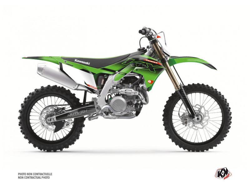 Kit Déco Moto Cross Live Kawasaki 450 KXF Vert