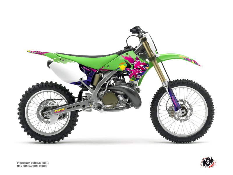 Kawasaki 125 KX Dirt Bike Memories Graphic Kit
