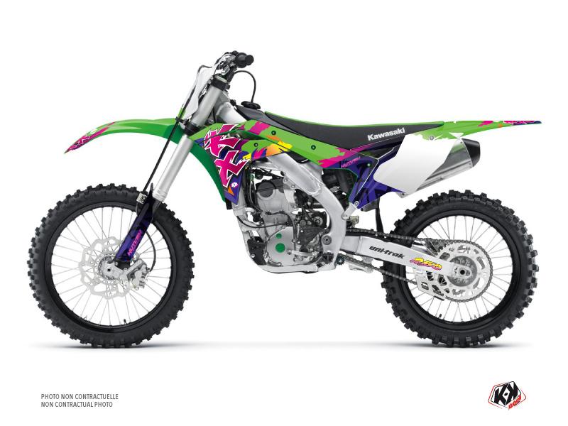 Kawasaki 250 KXF Dirt Bike Memories Graphic Kit