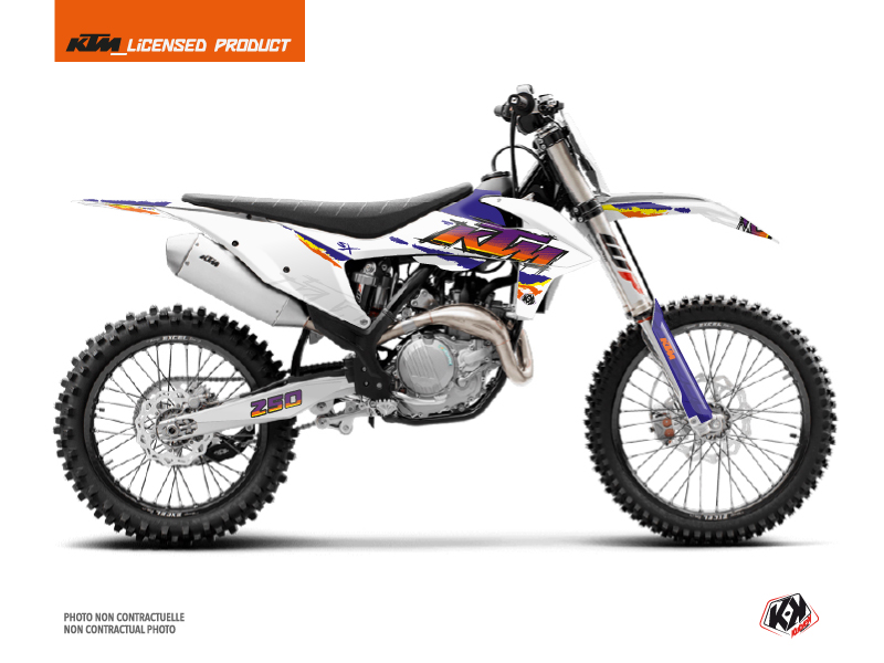 KTM 250 SX Dirt Bike Memories Graphic Kit