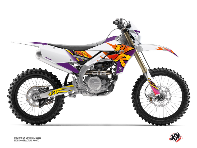Kit Déco Moto Cross Memories Yamaha 450 WRF