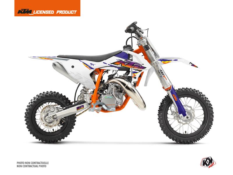 KTM 50 SX Dirt Bike Memories Graphic Kit