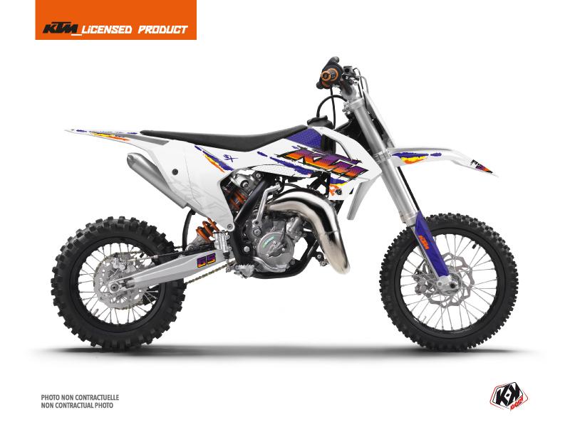 KTM 65 SX Dirt Bike Memories Graphic Kit