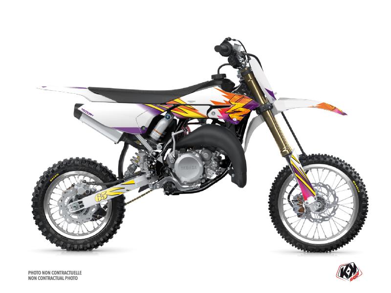 Yamaha 65 YZ Dirt Bike Memories Graphic Kit