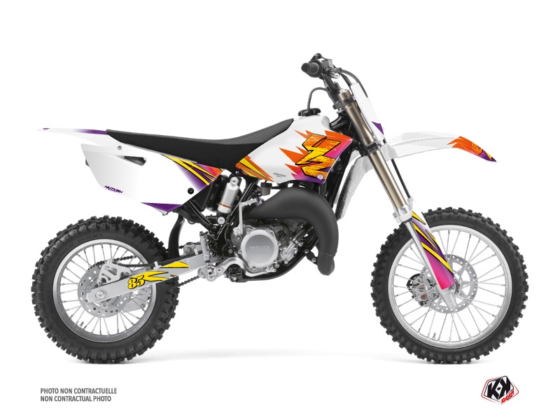 Yamaha 85 YZ Dirt Bike Memories Graphic Kit