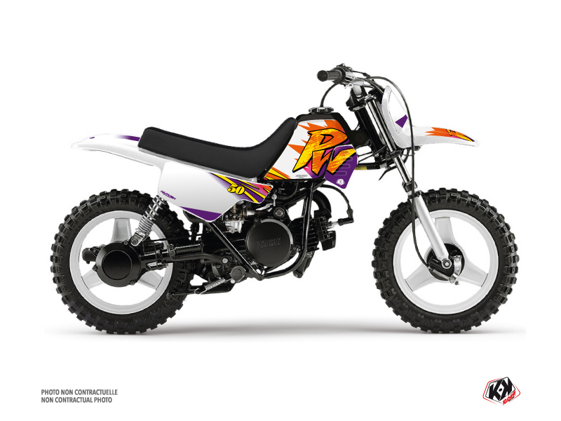 Yamaha PW 50 Dirt Bike Memories Graphic Kit
