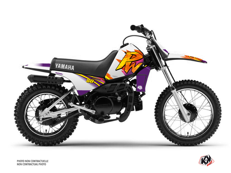Kit Déco Moto Cross Memories Yamaha PW 80