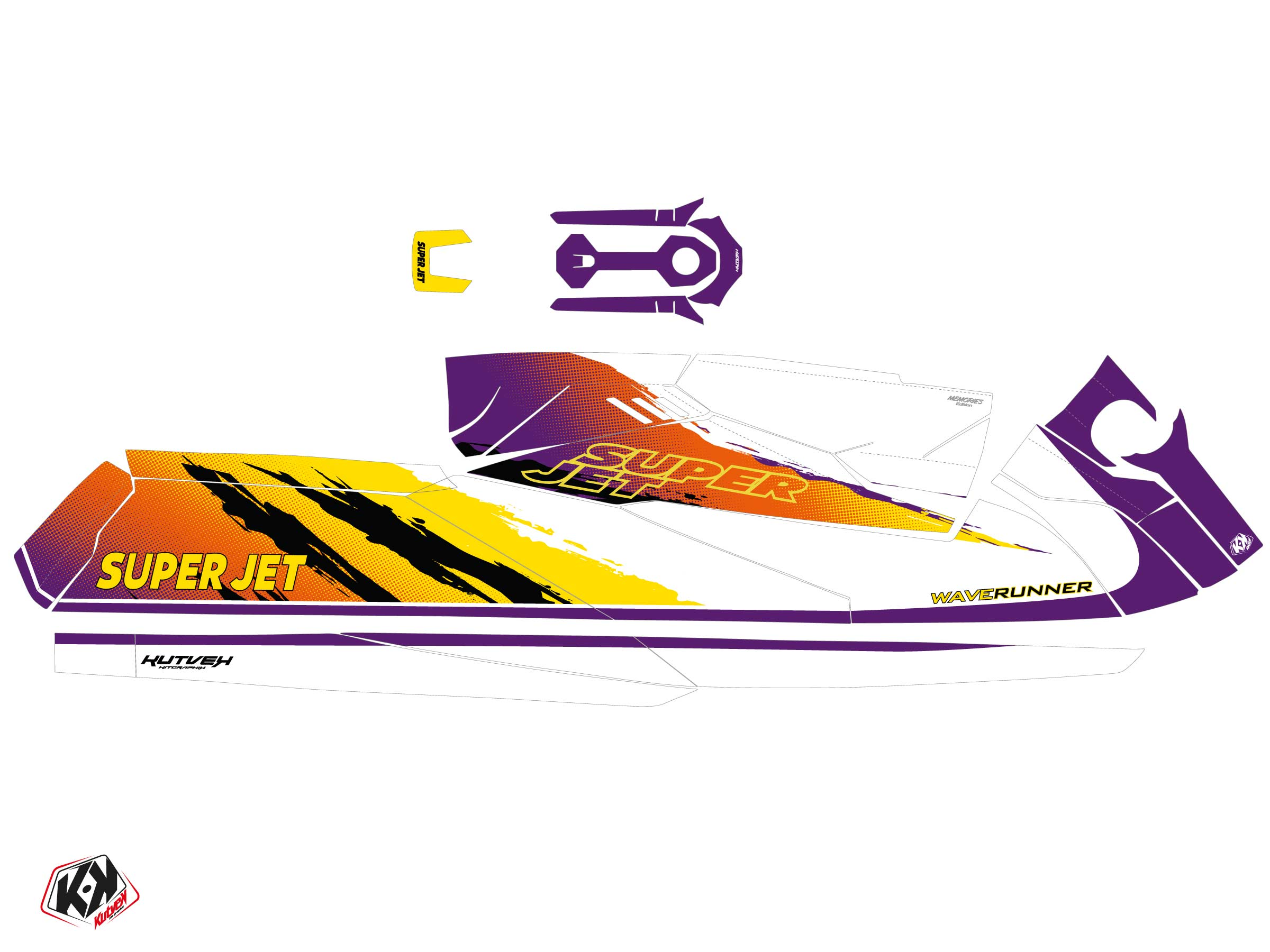 Kit Déco Jet-Ski Memories Yamaha Superjet 2021