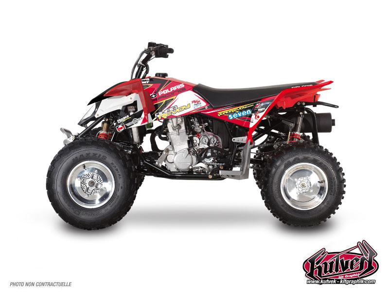 Polaris Outlaw 450 ATV Replica Mickael Revoy Graphic Kit 2011