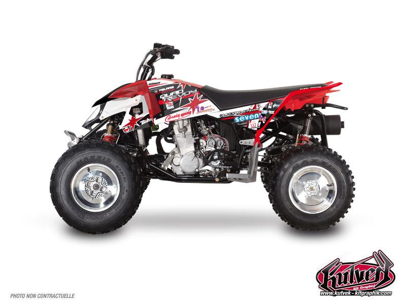 Polaris Outlaw 450 ATV Replica Mickael Revoy Graphic Kit 2012