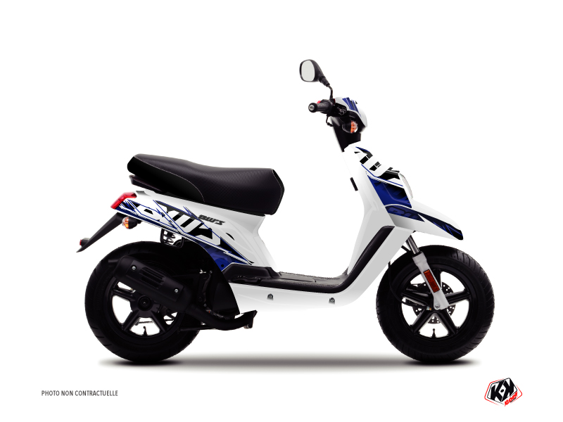Yamaha BWS Scooter Mission Graphic Kit Blue