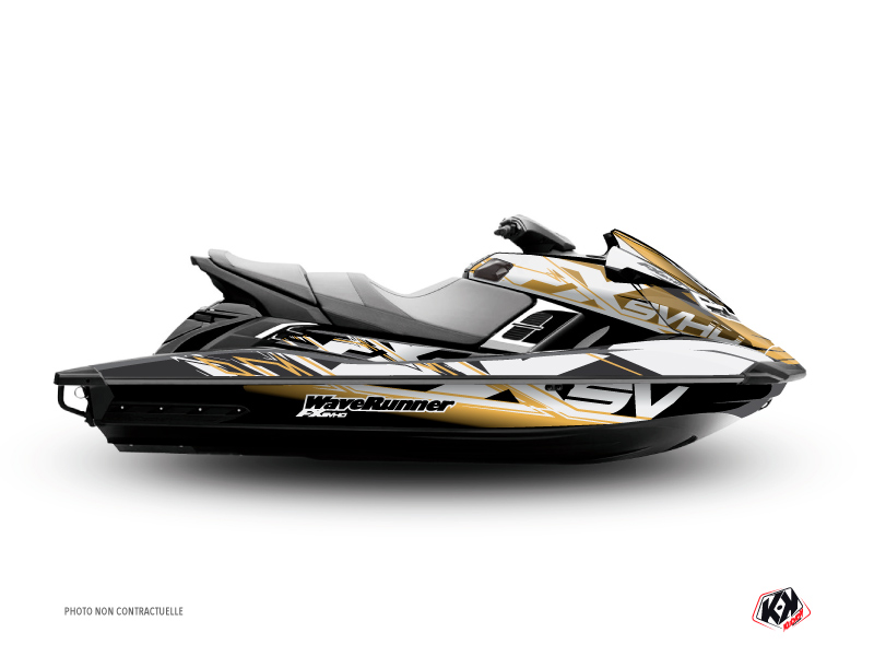 Kit Déco Jet-Ski Mission Yamaha FX Marron