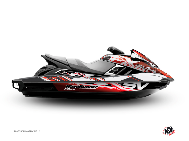 Kit Déco Jet-Ski Mission Yamaha FX Rouge
