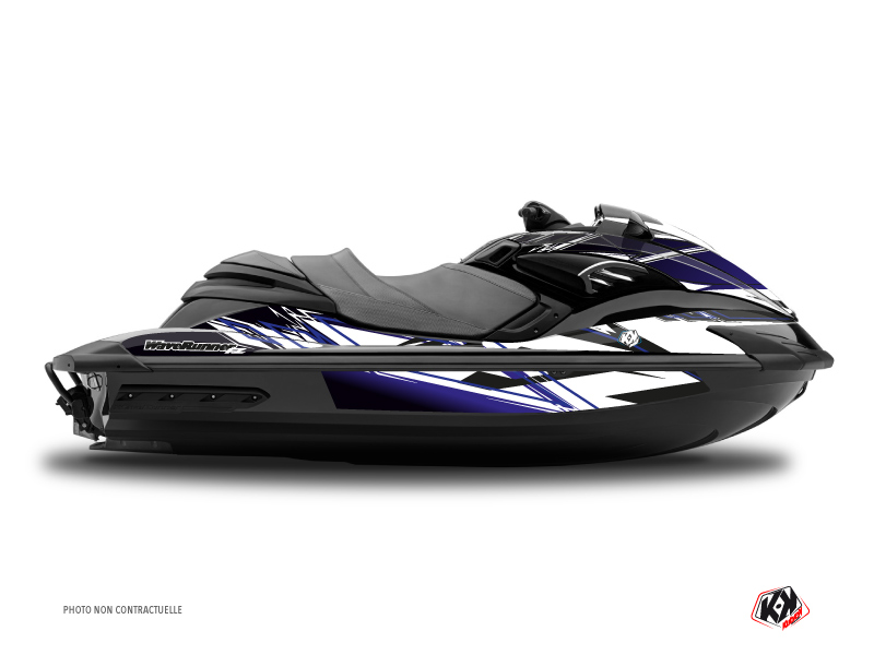 Yamaha FZR-FZS Jet-Ski Mission Graphic Kit Blue