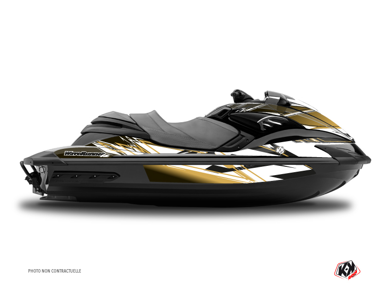 Kit Déco Jet-Ski Mission Yamaha FZR-FZS Marron