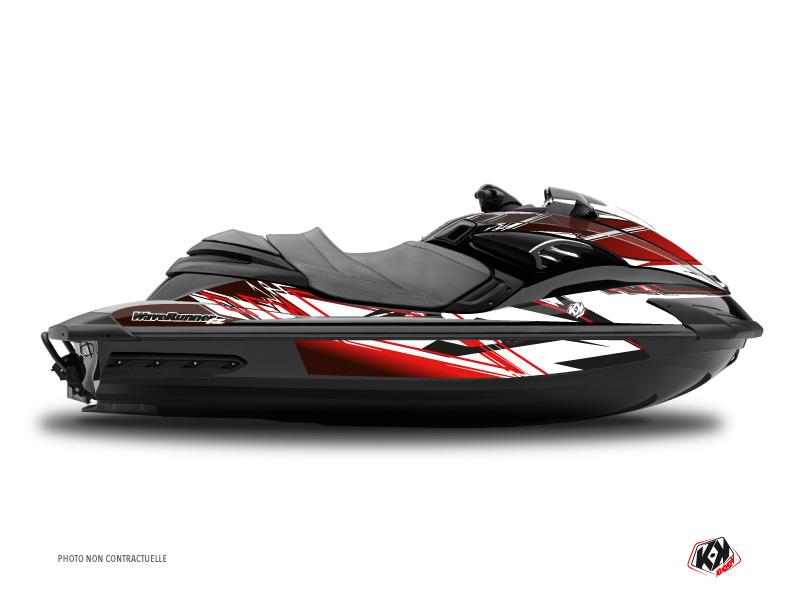 Yamaha FZR-FZS Jet-Ski Mission Graphic Kit Red