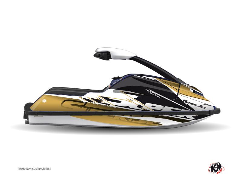 Yamaha Superjet Jet-Ski Mission Graphic Kit Brown