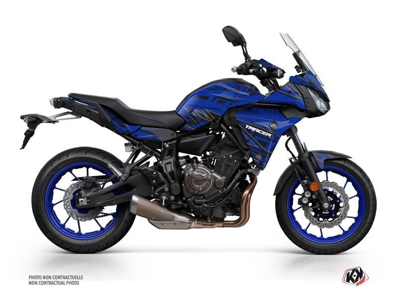 Yamaha TRACER 700 Street Bike Mission Graphic Kit Blue