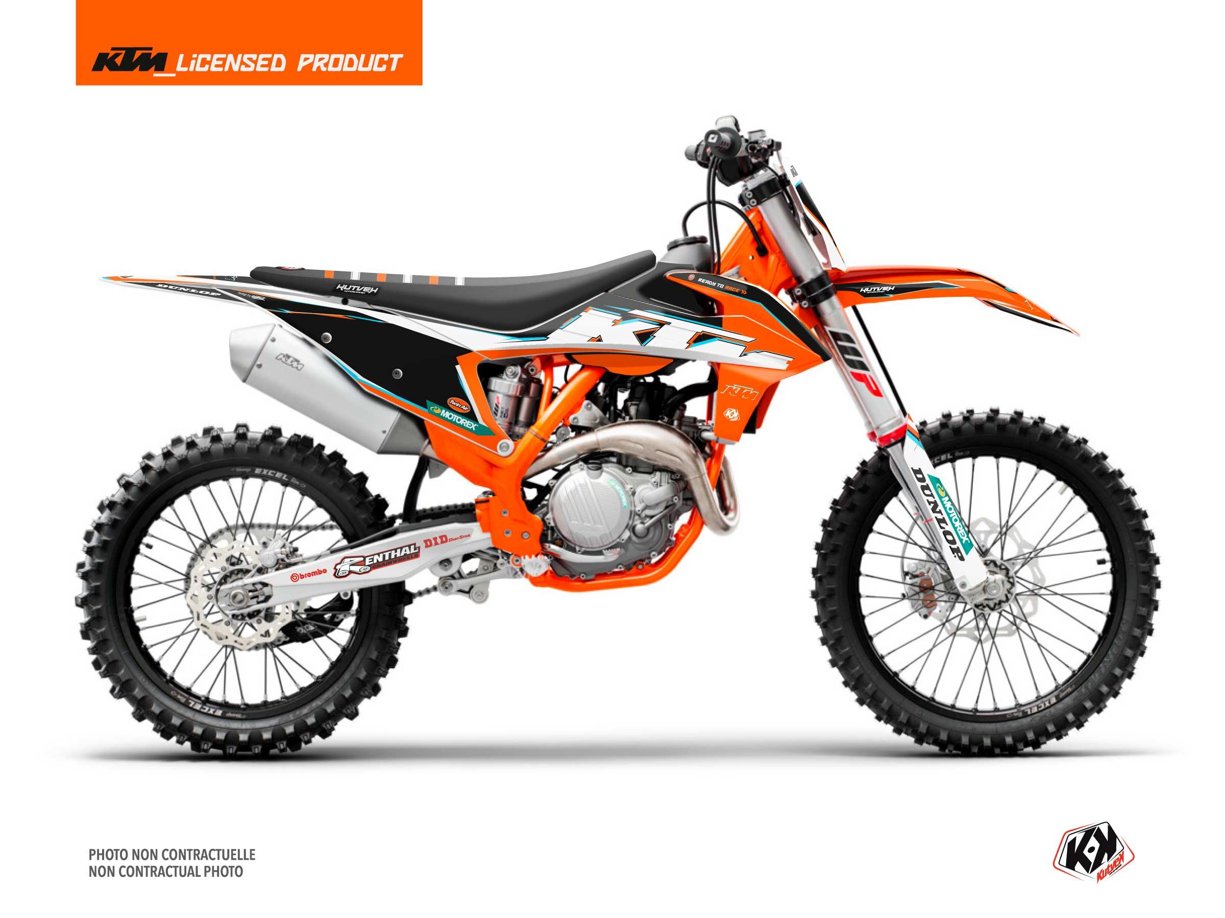 KTM 125 SX Dirt Bike Origin-K22 Graphic Kit Black