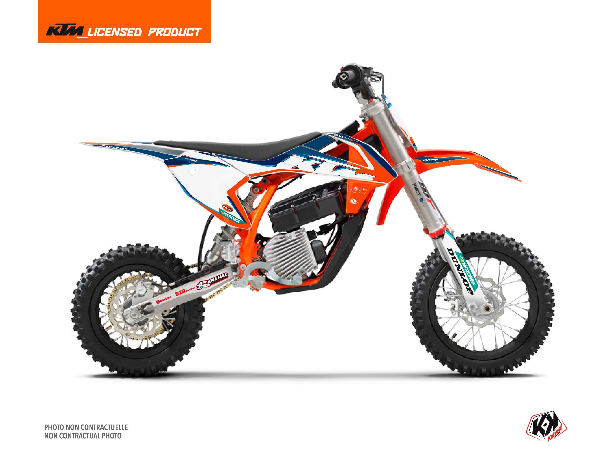 Kit Déco Moto Cross Origin-K22 KTM SX-E 5 Bleu