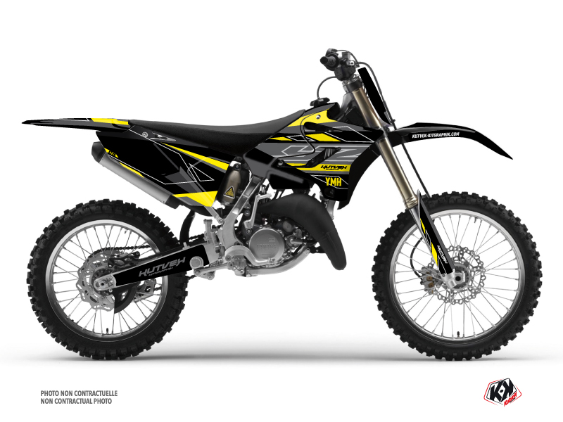 Kit Déco Moto Cross Outline Yamaha 250 YZ Jaune