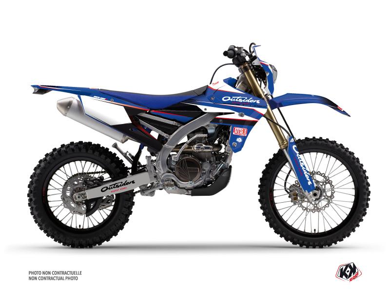 Yamaha 250 WRF Dirt Bike Replica Outsiders OTS Graphic Kit 2018