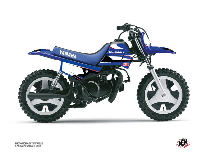 Yamaha PW 50 Dirt Bike Replica Outsiders OTS Graphic Kit 2018