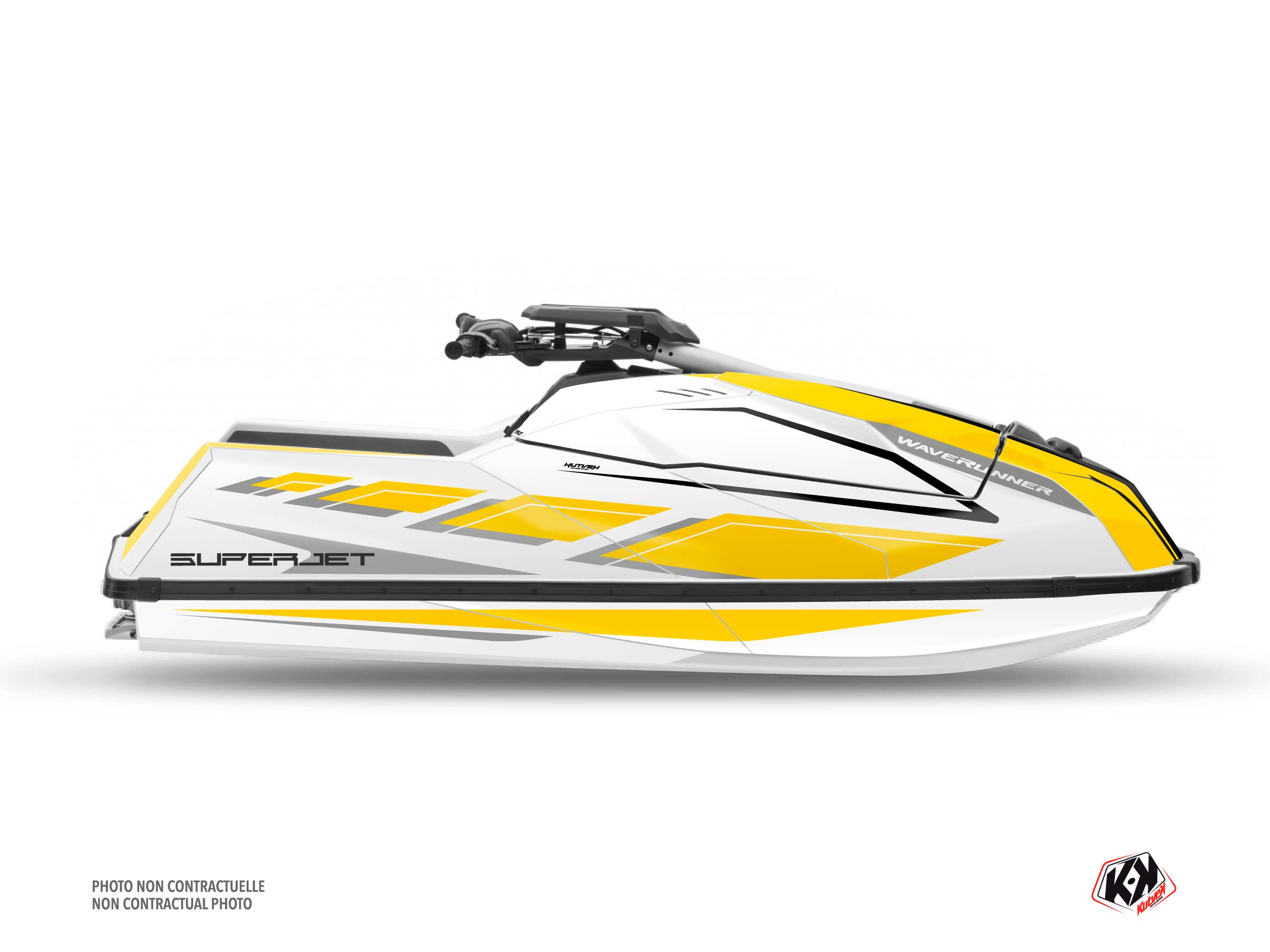 Kit Déco Jet-Ski PERF Yamaha Superjet 2021 Jaune