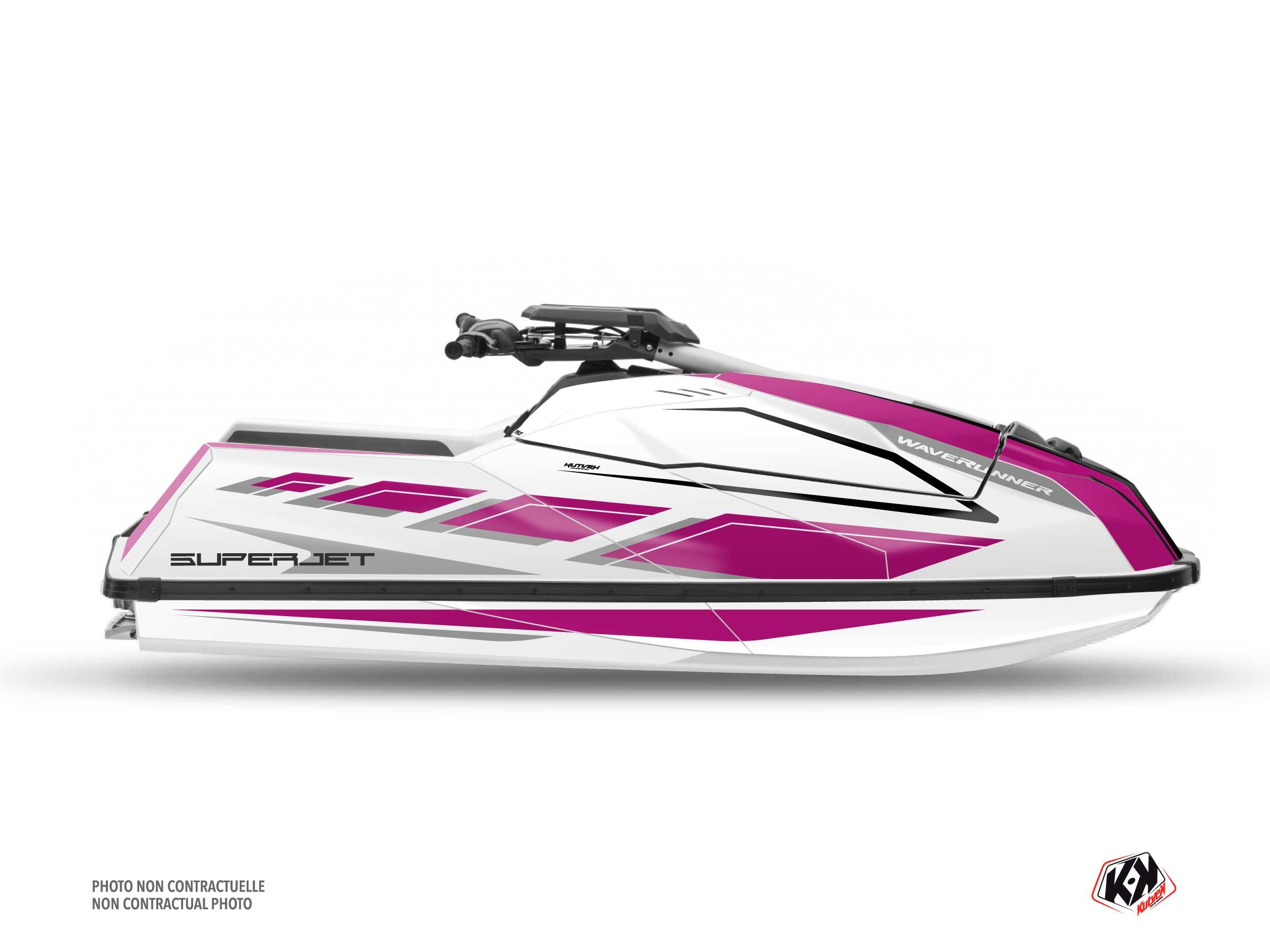 Kit Déco Jet-Ski PERF Yamaha Superjet 2021 Mauve