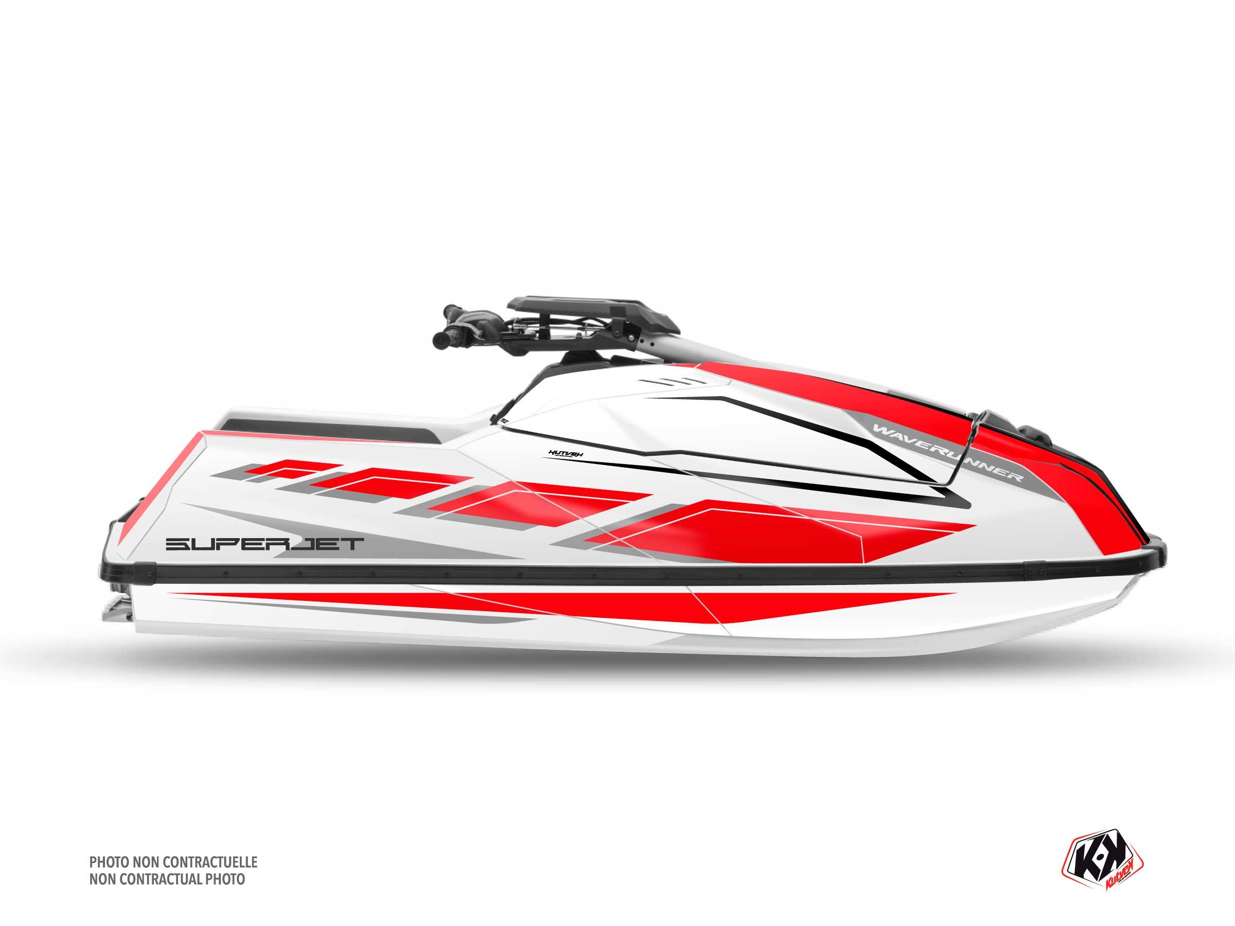 Kit Déco Jet-Ski PERF Yamaha Superjet 2021 Rouge