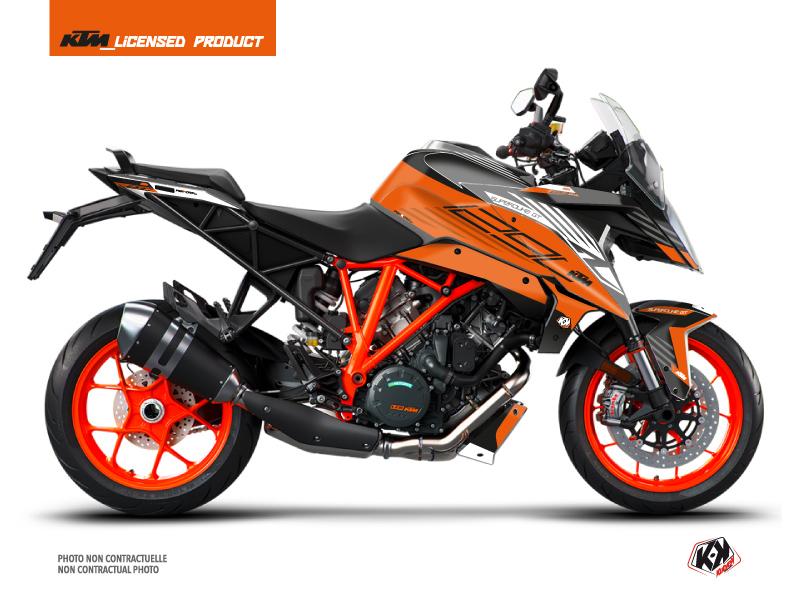 Kit Déco Moto Perform KTM Super Duke 1290 GT Orange Noir