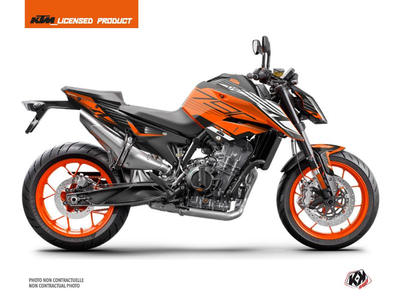 KTM Duke 790 Street Bike Perform Graphic Kit Orange Black