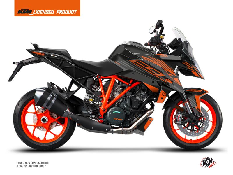 Kit Déco Moto Perform KTM Super Duke 1290 GT Noir Orange