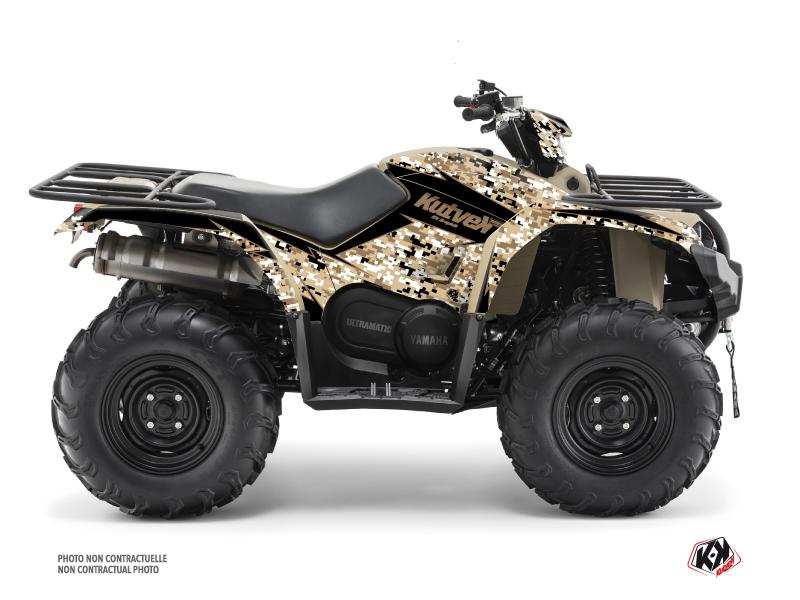 Yamaha 450 Kodiak ATV Predator Graphic Kit Sand