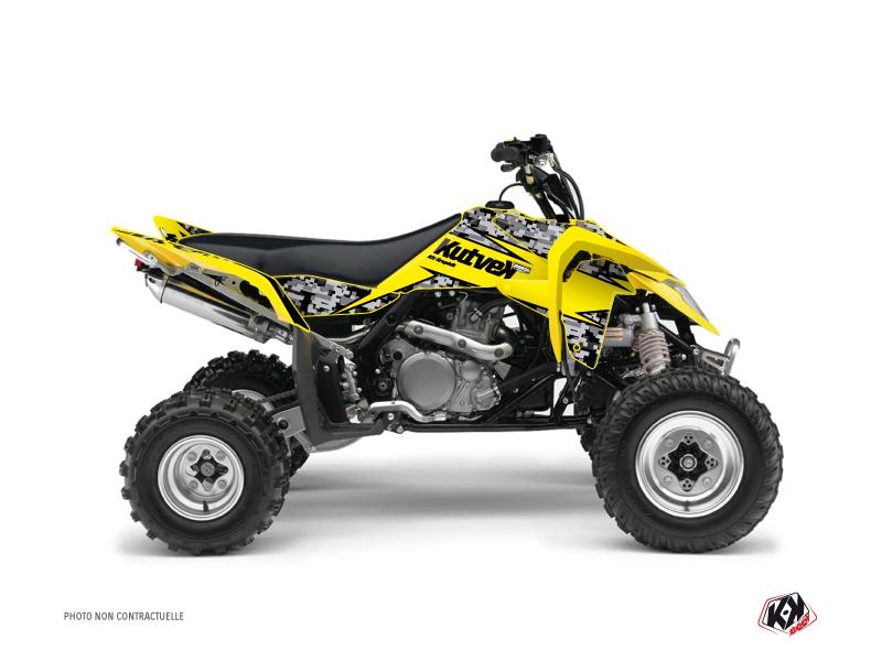 Suzuki 450 LTR ATV Predator Graphic Kit Yellow
