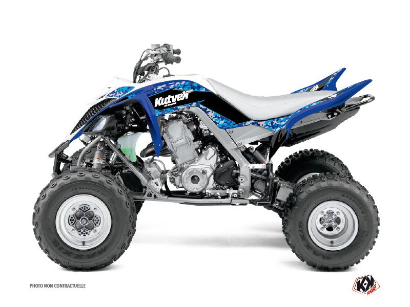 Yamaha 660 Raptor ATV Predator Graphic Kit Blue