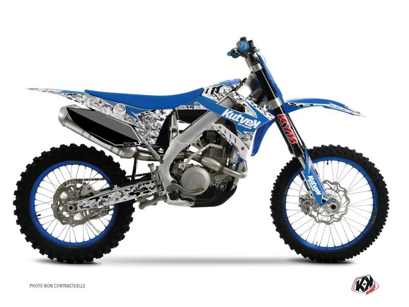 TM MX 250 FI Dirt Bike Predator Graphic Kit Blue