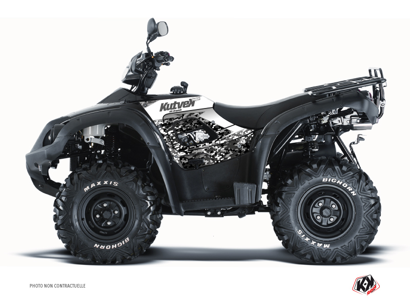 TGB Blade 1000 V-TWIN ATV Predator Graphic Kit White