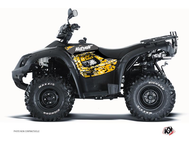 TGB Blade ATV Predator Graphic Kit Black Yellow