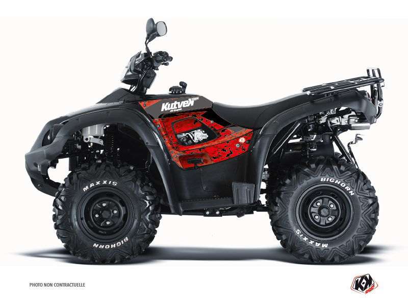 TGB Blade ATV Predator Graphic Kit Red Black