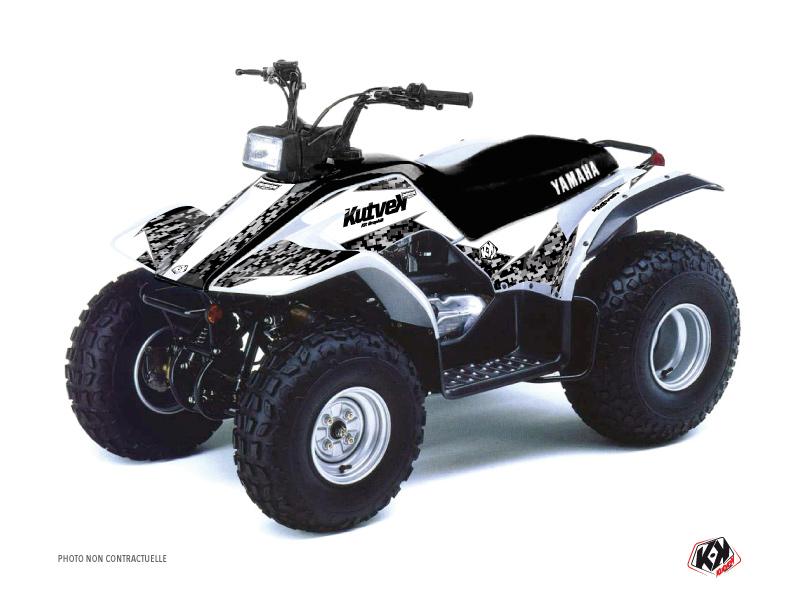 Yamaha Breeze ATV Predator Graphic Kit White