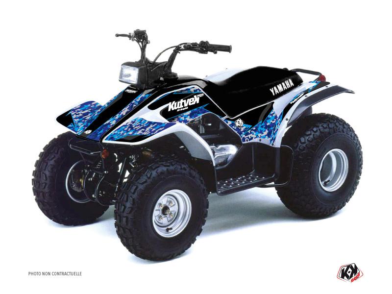 Yamaha Breeze ATV Predator Graphic Kit Blue