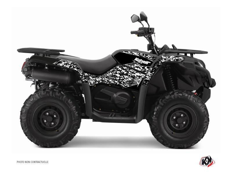CF MOTO CFORCE 520 S ATV Predator Graphic Kit Black