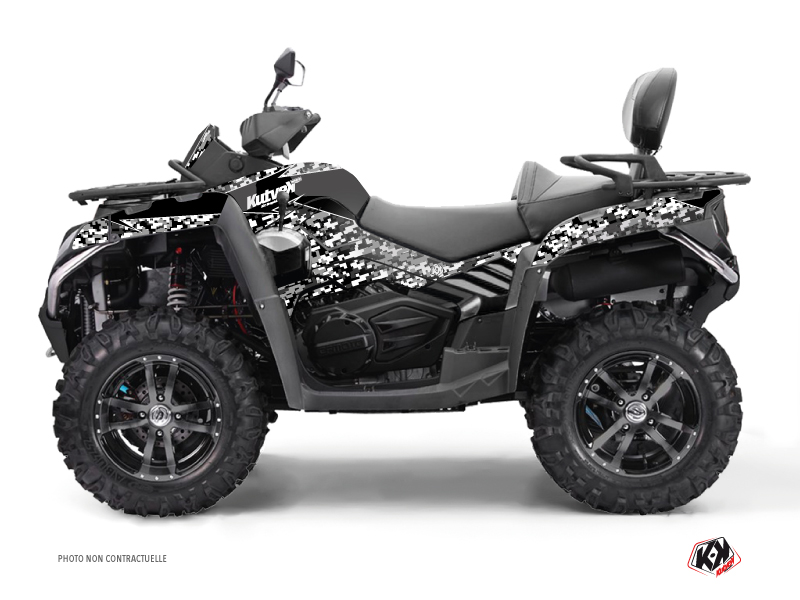 CF MOTO CFORCE 800 S ATV Predator Graphic Kit Black